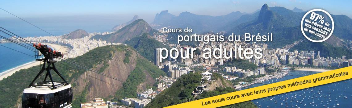 Cours de portugais du Brésil