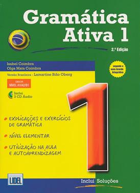 livre de grammaire brésilienne « A Gramática Ativa 1 »