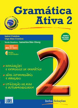 Le livre de grammaire brésilienne « A Gramática Ativa 2 » niveau avancé