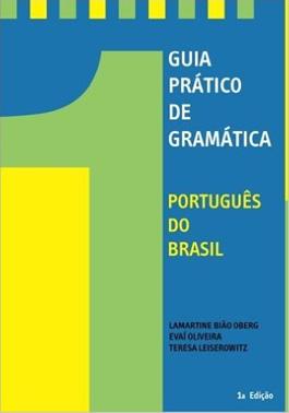 Le livre de grammaire « Guia Prático de Gramática »